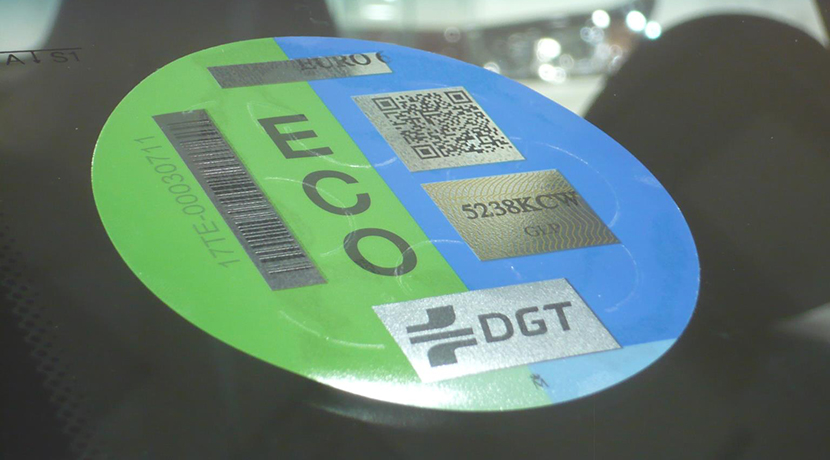 Label ECO of the DGT