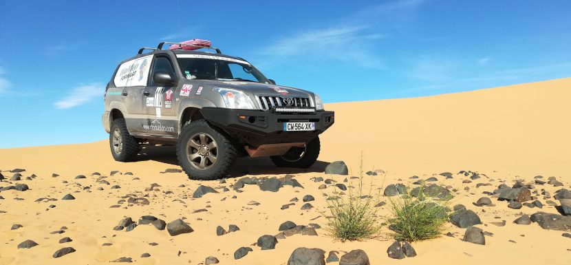 Rallye Gazelles & Men 2018: We arrived in Africa